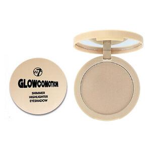 W7 Glowcomotion Highlighter Shimmer Highlighting Compact Shimmering Powder