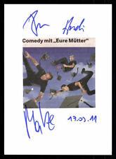 Andreas Kraus, Donato Svezia y Matthias Weinmann original firmado # bc 46324