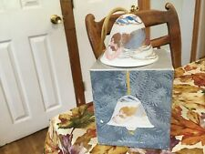 Lladro Angelic Melody Bell Christmas Ornament In Box Angel