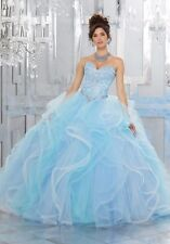 NEW Beading Quinceanera Dresses Evening Pageant Dress Prom Ball Gown Custom