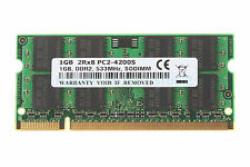 NEW 1GB DDR2 2RX8 PC2-4200S 533Mhz 200pin SODIMM RAM Laptop Memory intel Non-ECC