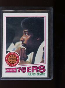 1977-78 TOPPS #100 JULIUS ERVING GREEN BACK FREE COMBINED SHIPPING