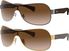 Ray-Ban Pilot/Wrap Hybrid Sunglasses w/ Gradient Shield Lens - RB3471