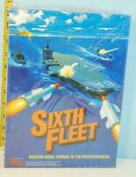 Sixth Fleet: Modern Navel Combat in Mediterranean Victory Games 1985 1/2 Punched