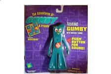 "6"" Talking Gumby with Movable Arms 1995 Trendmasters Original Packaging"