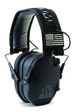 Razor Slim Muffs Folding Design With Hd Speaker High Quality Black Patriot Patch
