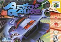 Aero Gauge Nintendo 64 N64 Authentic Video Game Cart Racing OEM SUPER FAST SHIP!