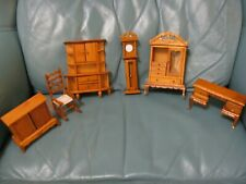 6 Pieces of Doll Furniture, Wood NEW