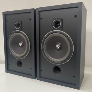 Pair of Cerwin-Vega CM-10 Floor Standing Stereo Speakers - High End Made in USA