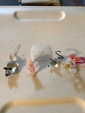 Vintage Handblown Glass Mouse Figurine Lot of 4 Mice