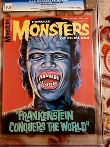 FAMOUS MONSTERS  OF FILMLAND ISSUE 39** CGC 9.4!!** *FREE SHIPPING**!