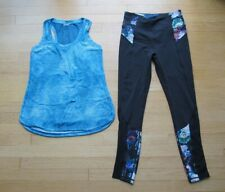 Calia Two Athletic Workout Clothing Top &  Leggings Women's Size Medium