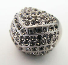 TH2 Kiam Family Lia Sophia Jewelry Sparkle crest ring in Silver size 7