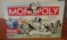 Monopoly Board Game w/ speed die 2007 Hasbro and Parker Brothers New