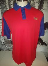 Sonic MENS Size Large Uniform Shirt Polo Car Hop Costume Fast Food NEW