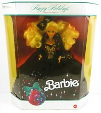 ** NIB BARBIE DOLL 1991 HAPPY HOLIDAYS CHRISTMAS 1871