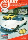 MARKT 10/86 - OPEL GT - Jaguar - MG K3 - Thunderbird - DDR-Roller - Laurin & Kl.