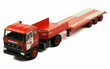 DAF 2800 Mammoet NL Low-Boy Trailer rot red 1978 Truck LKW Camion IXO 1:43