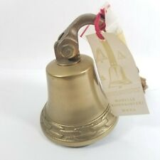 Great Antique Em Mora Solid Brass Ships Bell For Boat Yacht or Decor Great Sound
