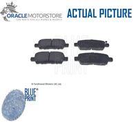 NEW BLUE PRINT REAR BRAKE PADS SET BRAKING PADS GENUINE OE QUALITY ADN142113