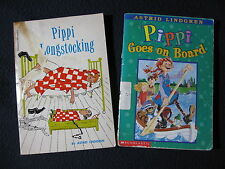 Pippi Longstocking and Pippi Goes on Board by Astrid Lindgren