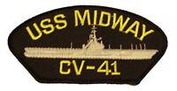 USS MIDWAY CVA-41 PATCH USN NAVY SHIP AIRCRAFT CARRIER MAGIC
