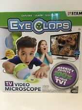 EyeClops TV Video Microscope Childrens Educational Science Toy by JAKKS PACIFIC