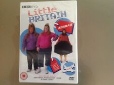 LITTLE BRITAIN DVD - ABROAD - BRAND NEW AND SEALED