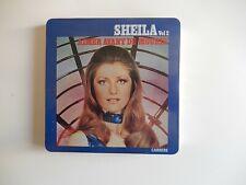 """CD Sheila n°2 rare boîte métal """"aimer avant de mourir"""" parfait état"""