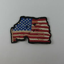 VINTAGE AMERICAN FLAG EMBROIDERED SEW IRON ON PATCH BIKER MOTOCYCLE T-SHIRT CAP