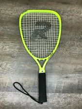 Richcraft Racquetball Racket Mid-Size Graphite Composite Ms Laser Yellow Euc!