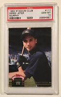 1993 Topps Stadium Club Murphy DEREK JETER PSA 10 Rookie Baseball Card RC HOF 🔥