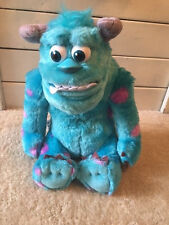 Monsters University Sully Talking Plush Doll Disney Movie Character My Scare Pal