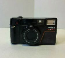 Nikon One Touch 35mm Point & Shoot Film Camera Tested