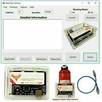Flash Boy 3.1 Cyclone GBC/GBA ROMS GameBoy Camera Flasher Dumper + USB Kabel