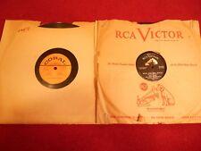 "(2) 78'S ""ROCK & ROLL WALTZ"" KAY STARR - ""RHYTHM 'N BLUES"" MCGUIRE SISTERS 1955"
