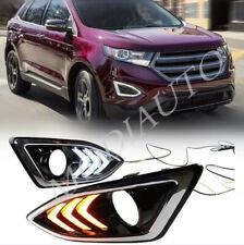 Ford Edge 2015-2018 LED DRL Daytime running lights/signal Turn signal lightsl H