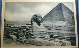 EGYPT POST CARD - the sphinx LOT 334