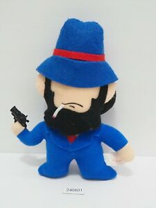 "Lupin The Third 240801 Daisuke Jigen Banpresto 1992 Plush 7.5"" Toy Doll Japan"