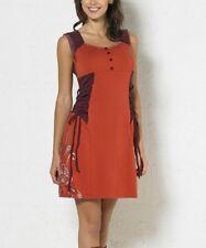Sleeveless Dress Size 12 Button Front Empire Waist Cotton Blend BNWT #B-673