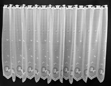 Scheibengardine Blätterranken Bistrogardine Gardine Küche 90//120//150//180 hoch
