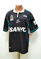 NRL PENRITH PANTHERS RUGBY LEAGUE SHIRT JERSEY ISC SIZE L ADULT