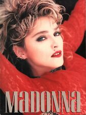MADONNA 1985 THE VIRGIN TOUR CONCERT PROGRAM BOOK BOOKLET / NEAR MINT 2 MINT