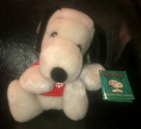Vintage 1968 Snoopy Plush Bank with Tags Looks Brand New Peanuts