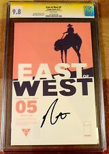 East of West 5, CGC 9.8 SS, signed by Dragotta, graded NM/MT, 1st print