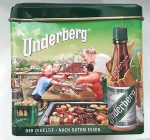 Underberg Limited Edition 2019 Annual Collector Gift Tin  * * Only Container * *