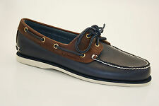 Timberland Classic Boat 2 Eyevintage Indigo and Potting Soil Two-tone Chaussure