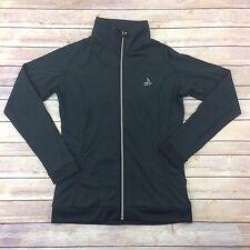 Sunice Womens Large Black Stretch Track Jacket