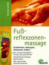 Fußreflexzonenmassage. Krankheiten vorbeugen, Schme... | Buch | Zustand sehr gut