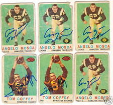 1959 Topps CFL Angelo Mosca  RC Signed Card [D]CATS